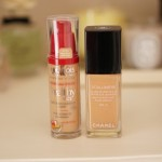 Vitalumiere de Chanel vs. Healthy Mix de Bourjois